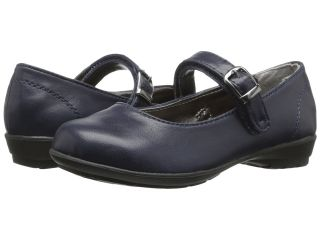 Kenneth Cole Reaction Kids Fly School Jr Girls Shoes (Navy)