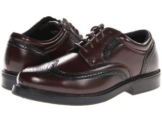 Soft Stags Gazette Mens Lace Up Wing Tip Shoes (Brown)