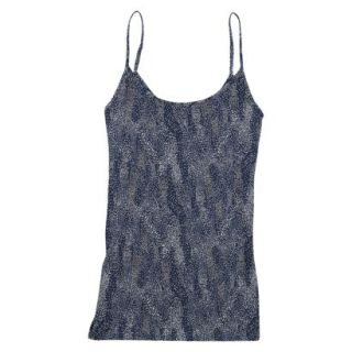 JKY by Jockey Womens Microfiber Stretch Cami 5540   Navy Dot Wave XL