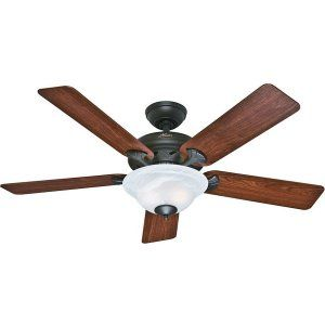 Hunter HUF 53111 The Brookline Large Room Ceiling Fan with light