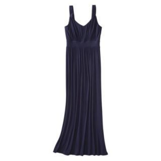 Merona Petites Sleeveless Maxi Dress   Navy SP