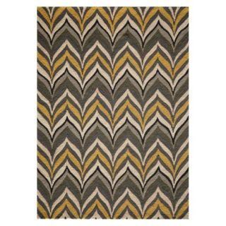 Barcelo Area Rug   Gold/Gray (76x96)