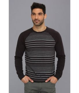 Lucky Brand Striped Raglan Tee Mens T Shirt (Multi)
