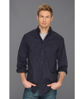 Carhartt Hines Solid L/S Shirt Mens Long Sleeve Button Up (Blue)