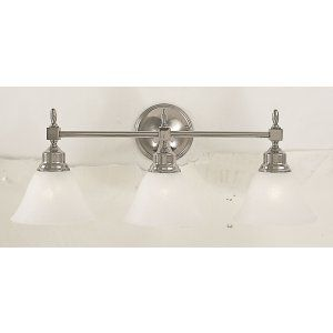Framburg Lighting FRA 2433 PN Taylor Three Light Bath Fixture from the Taylor Co