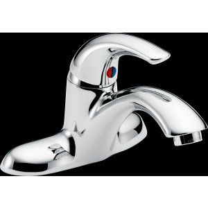 Delta Faucet 22C101 22T Series Single Handle Centerset Lavatory Faucet   Less Po