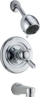 Delta T17430 Shower Trim, 17 Series Innovations Monitor ScaldGuard w/ Volume Control Chrome