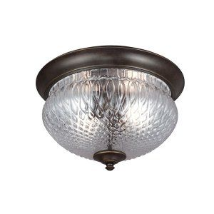 Sea Gull Lighting SEA 7826402 780 Garfield Park Two Light Outdoor Ceiling Flush