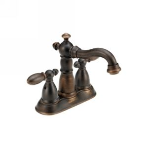 Delta Faucet 2555 RBMPU DST Victorian Victorian Two Handle Centerset Lavatory Fa