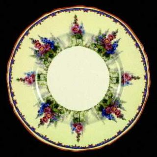 Alfred Meakin Hollyhock Dinner Plate, Fine China Dinnerware   Floral