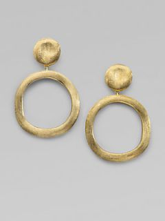 Marco Bicego 18K Yellow Gold Circle Earrings   Gold