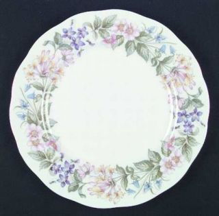 Royal Albert Country Lane Dinner Plate, Fine China Dinnerware   Royal,Floral Rin