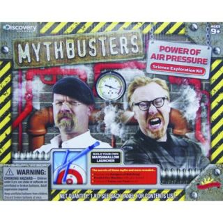 Scientific Explorer MYTHBUSTERS Power of Air Pressure Science Exploration Kit