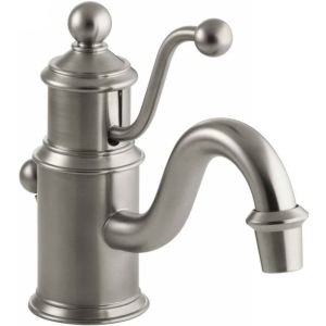 Kohler K 139 BN Antique Single Handle Single Hole Lavatory Faucet