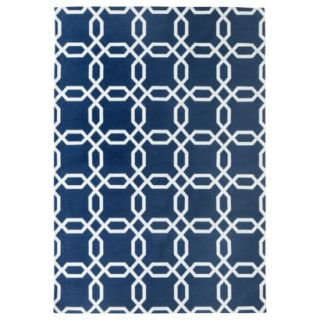 Room 365 Geometric Area Rug   Blue (5x7)