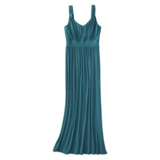 Merona Petites Sleeveless Maxi Dress   Monteray Blue XXLP