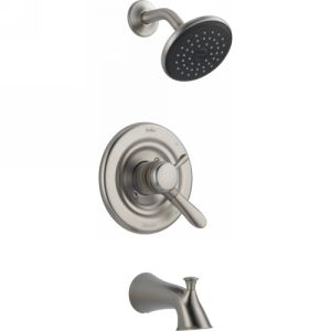 Delta Faucet 174938 SS Lahara Delta Lahara Monitor(R) 17 Series Tub And Shower