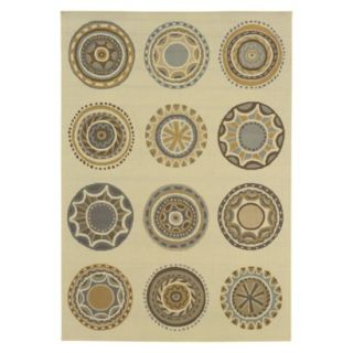 Jodi Medallion Indoor/Outdoor Area Rug (67x96)