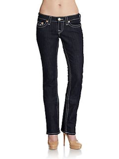 Straight Dark Wash Jeans   Dark Rinse