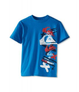 Quiksilver Kids Adventure Tee Boys T Shirt (Blue)