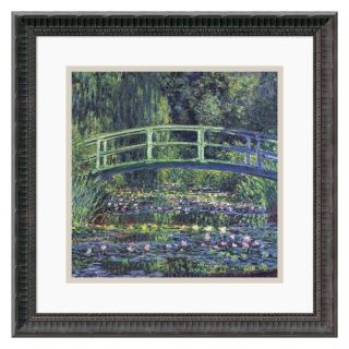 J and S Framing LLC Water Lily Pond, 1899 (Blue) Framed Wall Art   18.18W x 18.