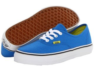 Vans Kids Authentic Boys Shoes (Blue)