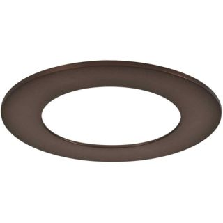 Halo TRM490TBZ LED Downlight Trim Accessory, 6 Trim Ring Replacement Tuscan Bronze