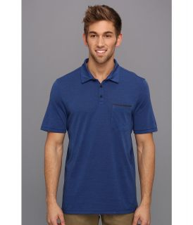 Hurley Dri FIT Kontra S/S Knit Polo Mens Short Sleeve Pullover (Blue)