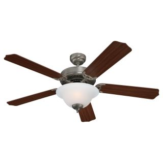 Sea Gull Lighting Quality Max Plus 52 inch Brushed Nickel Ceiling Fan With Bowl Light