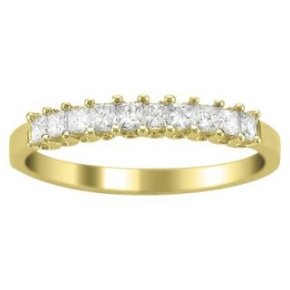 1/2 CT.T.W. Diamond Band Ring in 14K Yellow Gold   Size 6