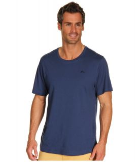 Tommy Bahama Cotton Crew Neck Tee Mens T Shirt (Blue)