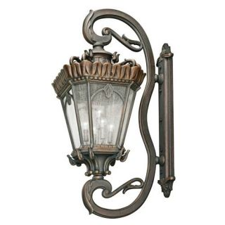 Kichler 9362LD Outdoor Light, European Wall 5 Light Fixture Londonderry