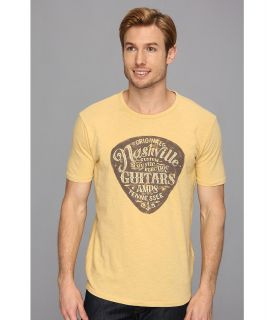 Lucky Brand Nashville Pick Mens Short Sleeve Pullover (Gold)