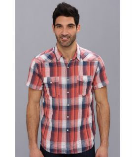 Lucky Brand Redstone Western Shirt Mens T Shirt (Red)