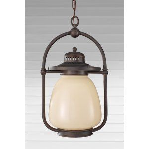 Feiss FEI OL9311GBZ Mc Coy 1   Light Outdoor Lantern
