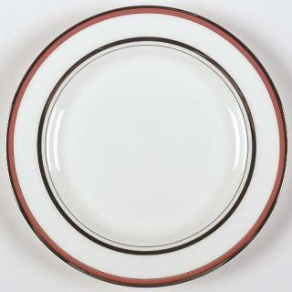 Lenox China Library Lane Coral Bread & Butter Plate, Fine China Dinnerware   Kat