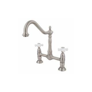 Elements of Design ES1178PX New Orleans Two Handle Kitchen Faucet