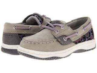 Sperry Top Sider Kids Bluefish Girls Shoes (Gray)
