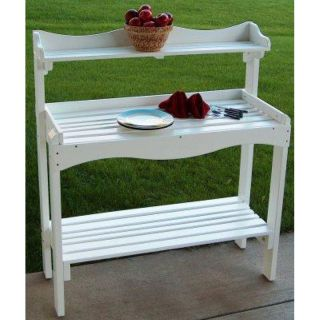 Prairie Leisure Backyard Buffet And Potting Bench   86C UNFINISHED