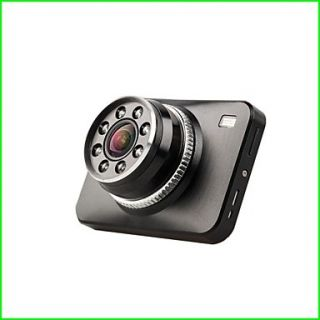 2.7 Inch 170 Degree Wide Angle View Car DVR Super Night Vision with Built in Microphone
