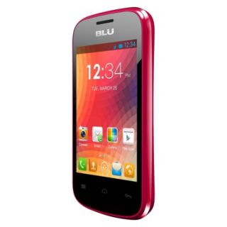 BLU Dash Junior D140 Unlocked GSM Dual SIM Android Cell Phone   Pink