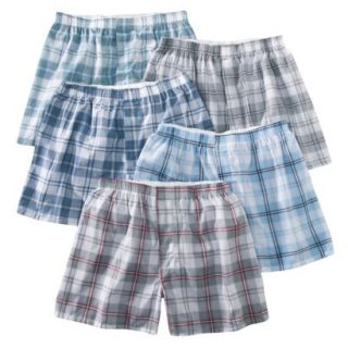 Fruit of the Loom Mens Boxers 5 Pack   Heather M
