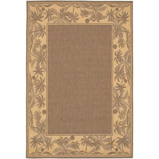 Couristan Recife Island Retreat Indoor/Outdoor Area Rug   Beige/Natural