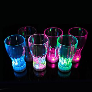 Color Flashing Coke Cup with LED Flash Light(1 PCS)