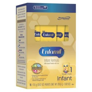 Enfamil PREMIUM Infant Formula Powder Single Serve   16 Count