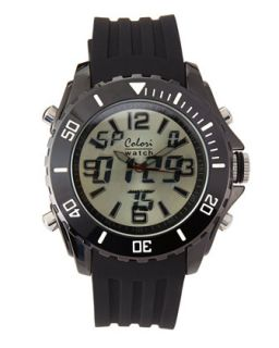 Mens Digital Sports Watch, Black