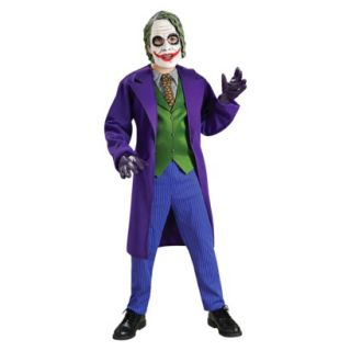 Boys Batman Dark Knight The Joker Deluxe Costume