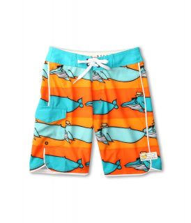 Billabong Kids Migration Boardshort Boys Swimwear (Orange)