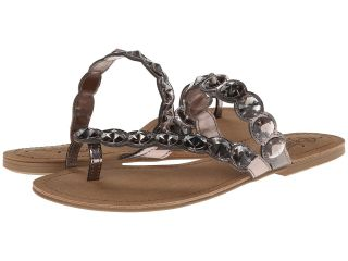 Kenneth Cole Unlisted Coin Charm Womens Sandals (Pewter)