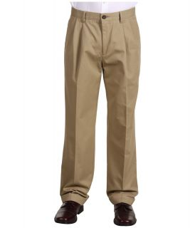 Dockers Big & Tall Big Tall Stain Defender D3 Classic Fit Pleated Khaki Mens Casual Pants (Khaki)